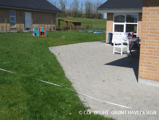 Praktiske overvejelser i forbindelse med dit haveprojekt kan også omhandle flisebelægning
