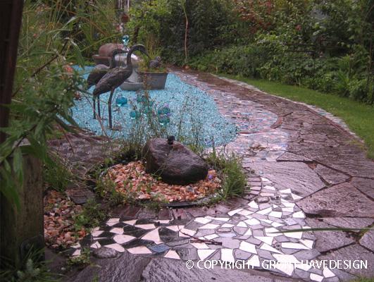 havegang og stier i haven